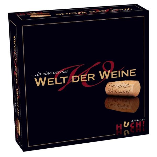 """Wer weiß was? - Brettspiel """"Welt der Weine"""" von Huch"""""""