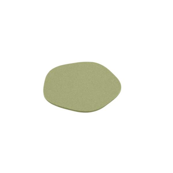 """Filz-Untersetzer """"Pebble"""" - 20 cm (Hellgrün/Pistazie) von HEY-SIGN"""