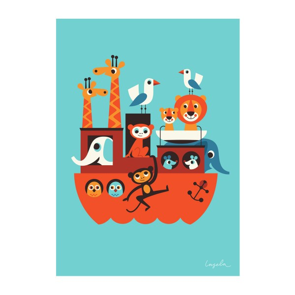"""OMM design - Poster für Kinder """"Arche"""""""