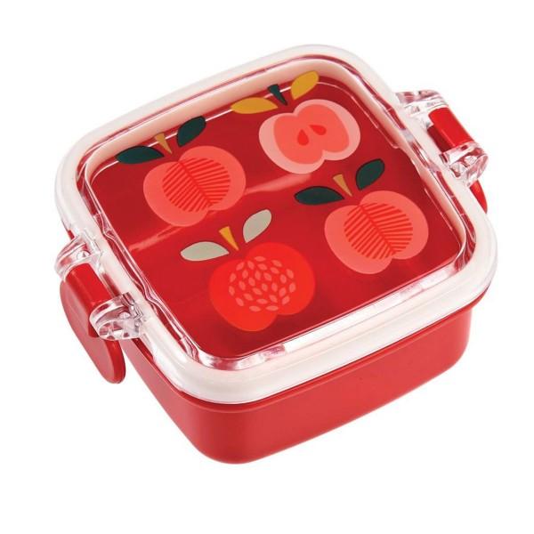 """Für Snacks und Nervennahrung - Snackdose """"Vintage Apples"""""""