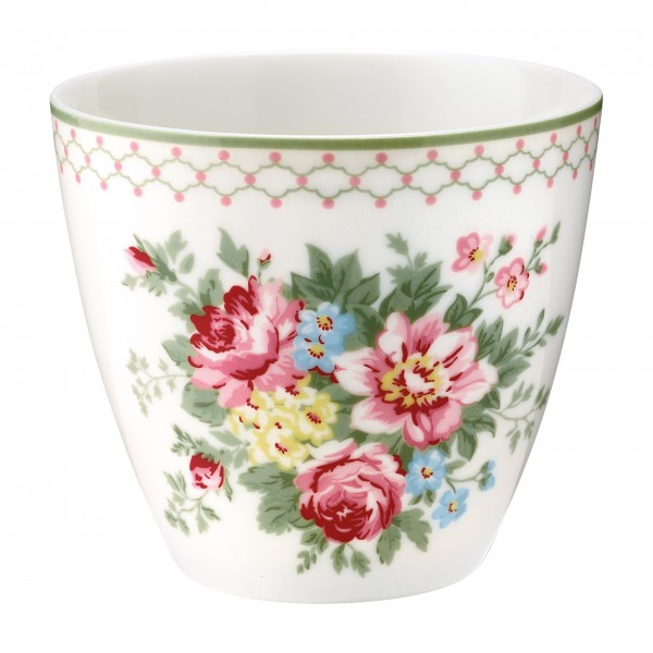 "GreenGate Latte Cup ""Aurelia"" (White)"