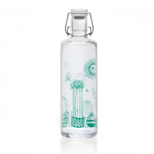 Alles im Fluss: Trinkflasche aus Glas von Soulbottles