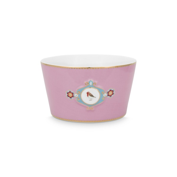 """Pip Studio Schale """"Love Birds - Medallion"""" - 15 cm (Pink)"""