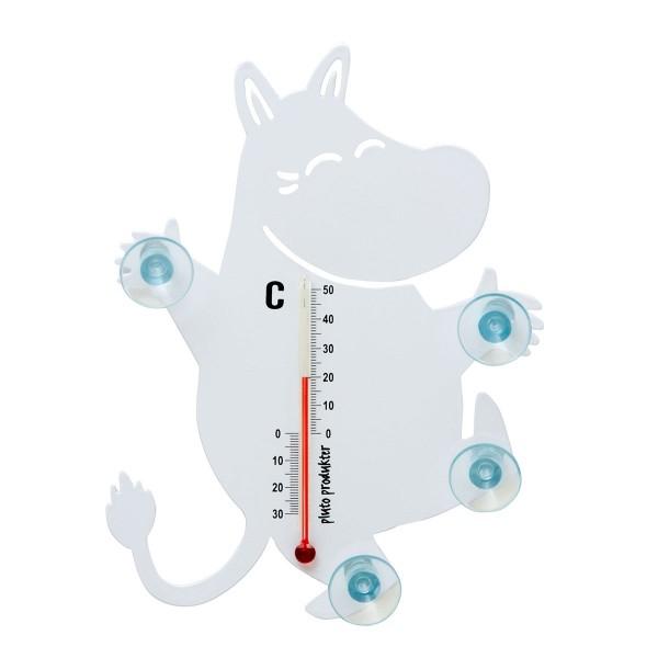 "Thermometer mit Saugnäpfen ""Nildpferd"""