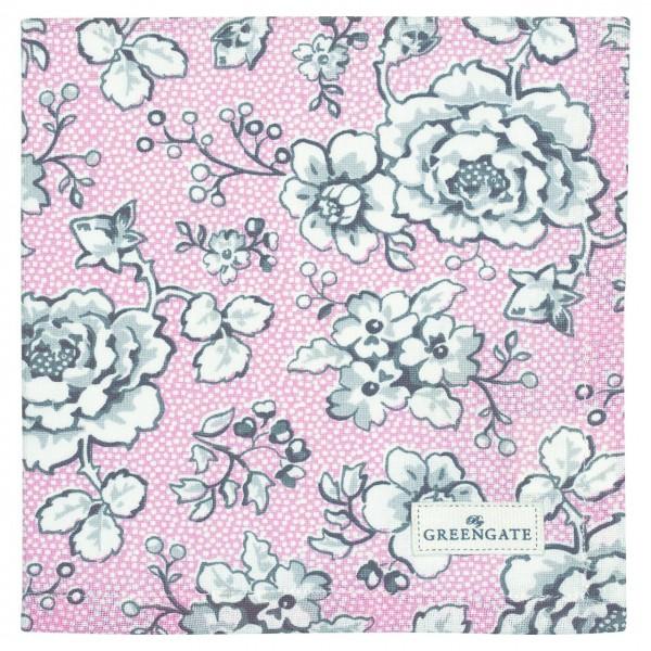 """GreenGate Stoffserviette """"Ella"""" (Pale Pink)"""
