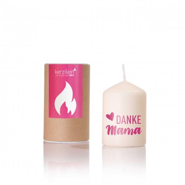 Danke Mama - kleine Kerze mit großer Bedeutung: von Kerzilein