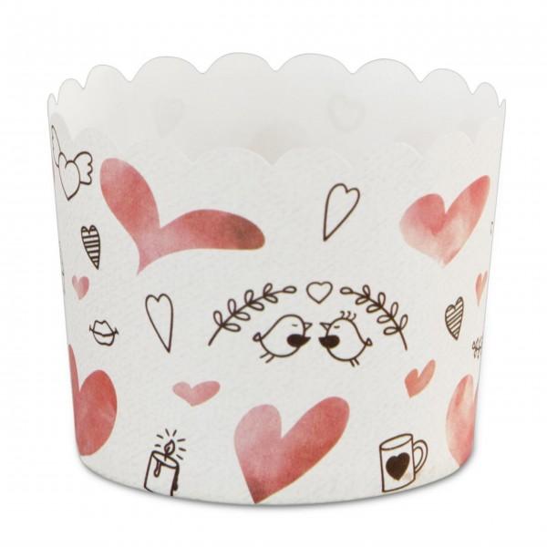 Liebevolle Cupcakeförmchen aus Papier von Städter