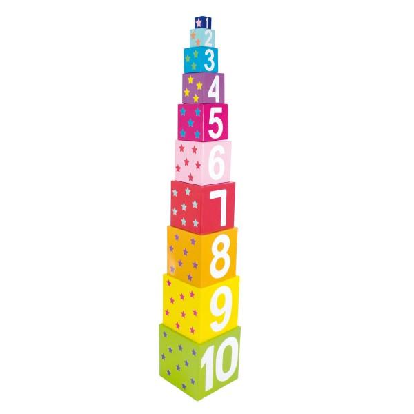 Zahlenturm von JaBaDaBaDo