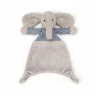 "Jellycat Schnuffeltuch ""Jumble - Elefant"" (Blau)"
