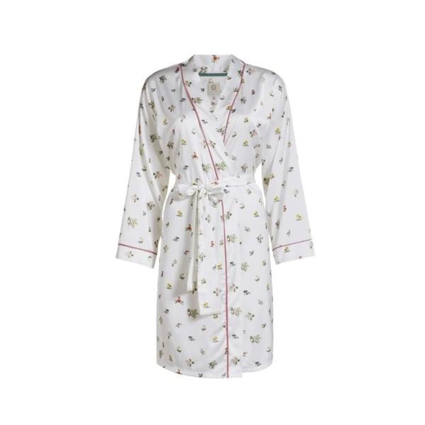 "Pip Studio Kimono ""Niny Moss"" (Weiß) - S"