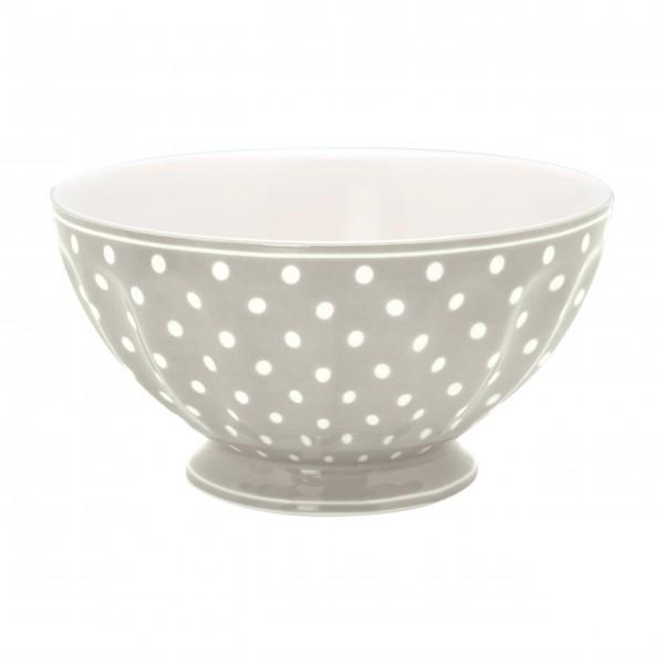 "GreenGate Schüssel - French Bowl ""Spot"" (Grey)"