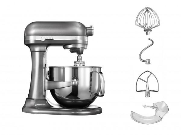 """KitchenAid """"Artisan"""" Küchenmaschine (Medaillon Silber) 6,9L"""