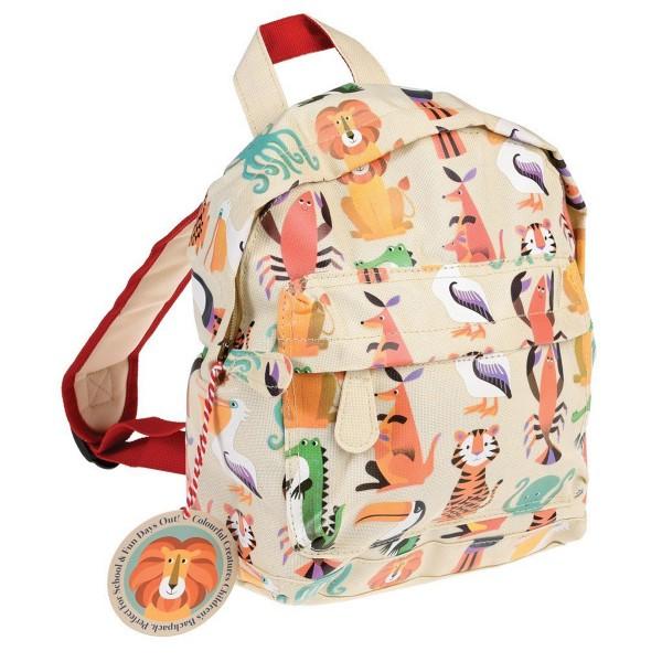 Für den Kindergarten: Rucksack aus Nylon