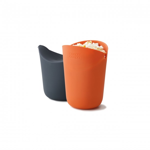 JosephJoseph M-Cuisine Popcorn Maker (Orange)