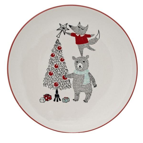 Weihnachtlich auftischen: Auf dem süßen Teller von Bloomingville!