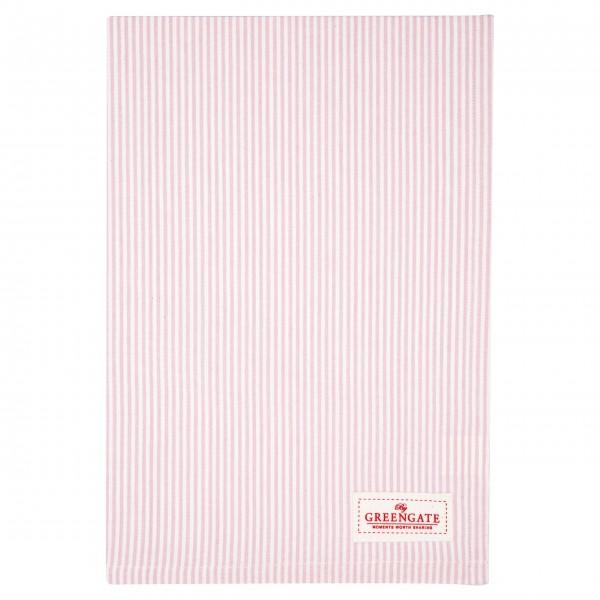"""GreenGate Geschirrtuch """"Zoe"""" (Pale Pink)"""