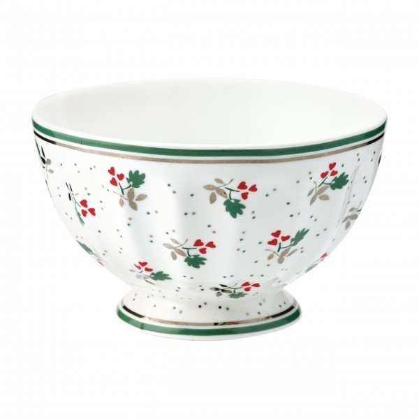 "Greengate Kleine Schüssel - French Bowl ""Joselyn"" (White)"