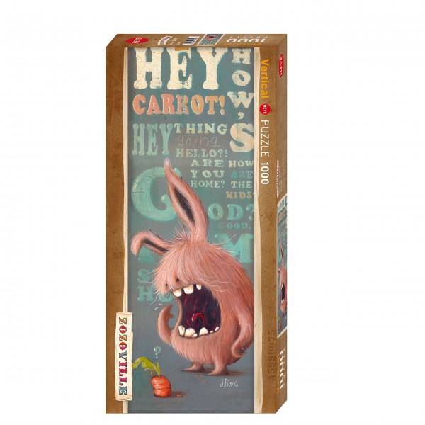 """Puzzle """"Carrot"""" von HEYE"""
