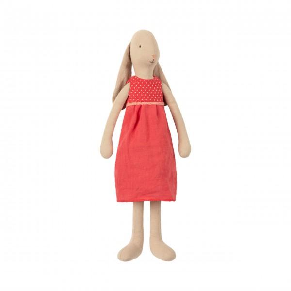 Maileg Hase im roten Kleid (Medium)