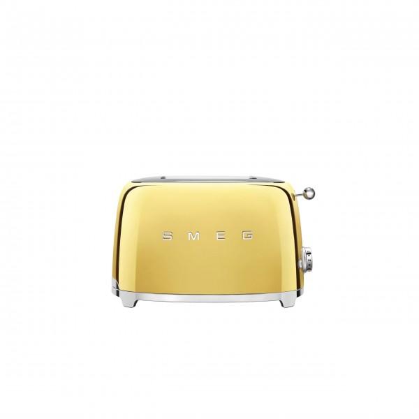 smeg 2-Schlitz-Toaster, kompakt im 50's Retro-Look