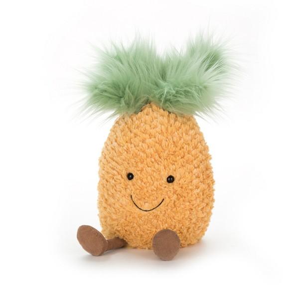 "Jellycat Kuscheltier Ananas ""Amuseable"" - Groß (Orange)"