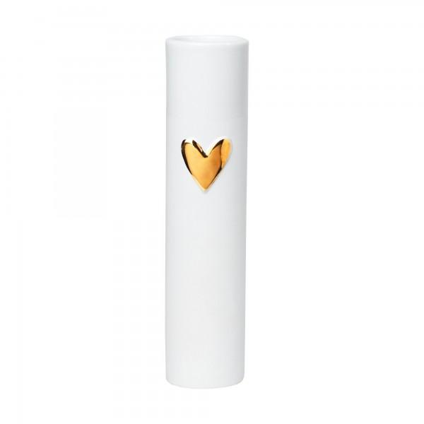 """Vase """"LIVING - Herz Gold"""" von räder Design"""