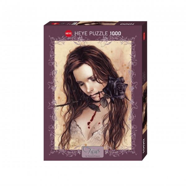"""Puzzle """"Dark Rose"""" von HEYE"""