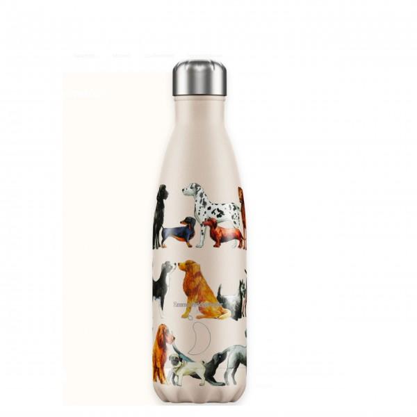 "CHILLY´S Bottle Isolierflasche ""Emma Bridgewater - Hunde"" - 500 ml"