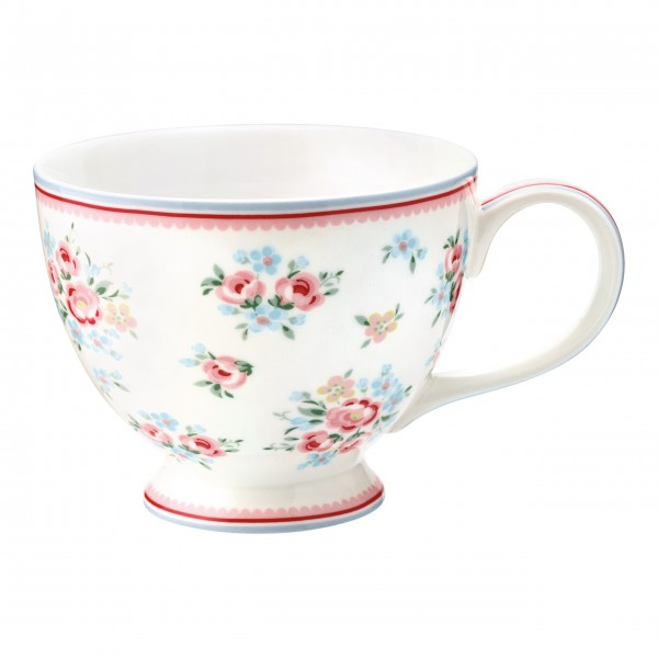 "GreenGate Teetasse ""Nicoline"" (White)"