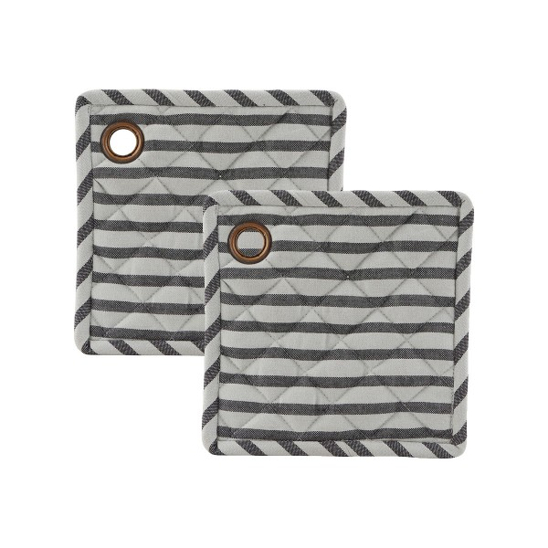 "House Doctor Topflappen ""Stripe"" im 2er-Set"""