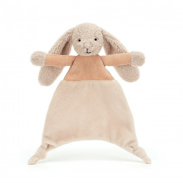 "Jellycat Schnuffeltuch ""Jumble - Hase"" (Orange)"