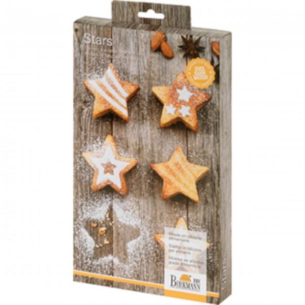 "Birkmann Mini-Cakes Stars ""Classic Christmas"" (mittel)"
