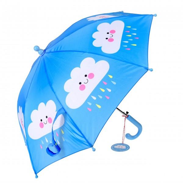"""Für Spaß im Regen: Der Kinderregenschirm """"Happy Cloud"""""""