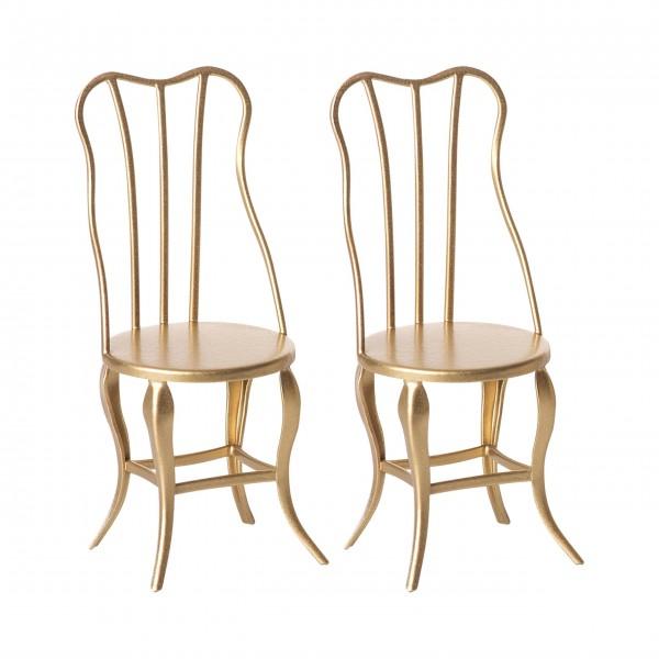 Maileg Vintage Stühle im 2er-Set, Micro