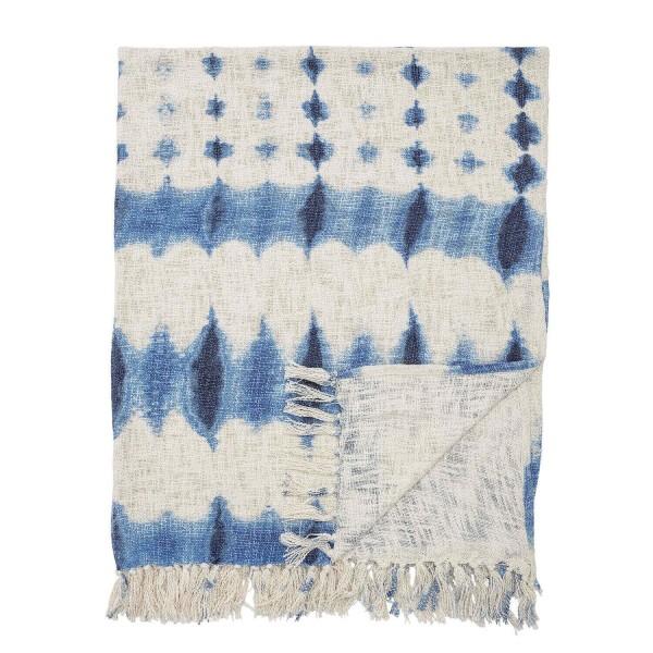 Bloomingville Decke aus Baumwolle (Bunt)