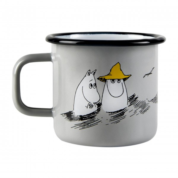 "Muurla Emaille Becher ""Moomin-Friends"""