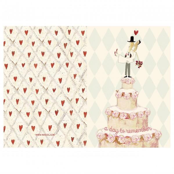 """Maileg """"Happy Wedding Day"""" Aufklappkarte"""
