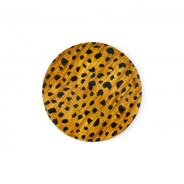 "FABIENNE CHAPOT Servierteller ""Cheetah Spots"" (Braun/Weiß)"