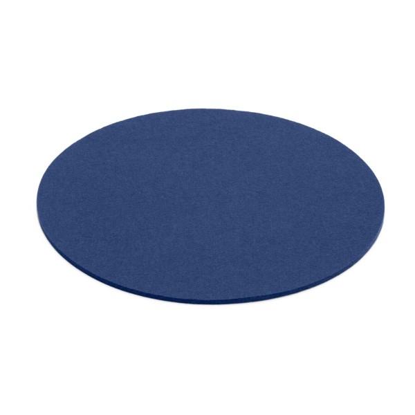 Filz-Untersetzer rund - 20 cm (Blau/Indigo) von HEY-SIGN