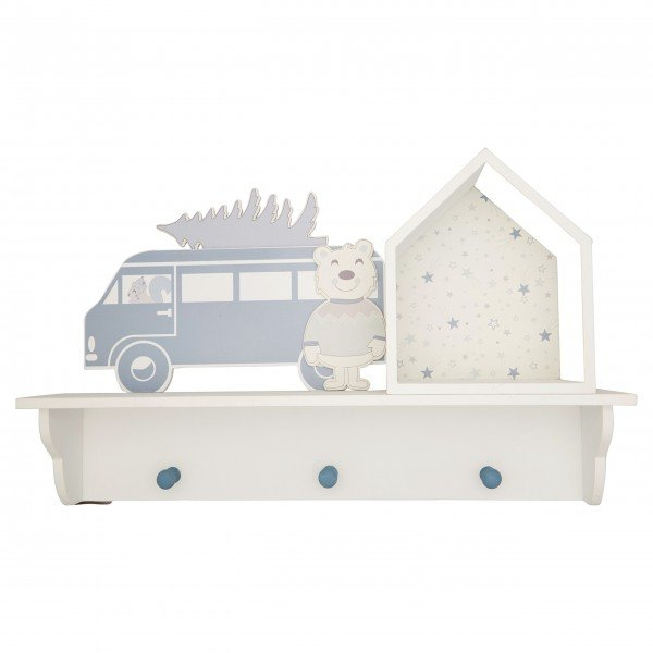 "GreenGate Kindergarderobe ""Forrest"" (Pale Blue)"