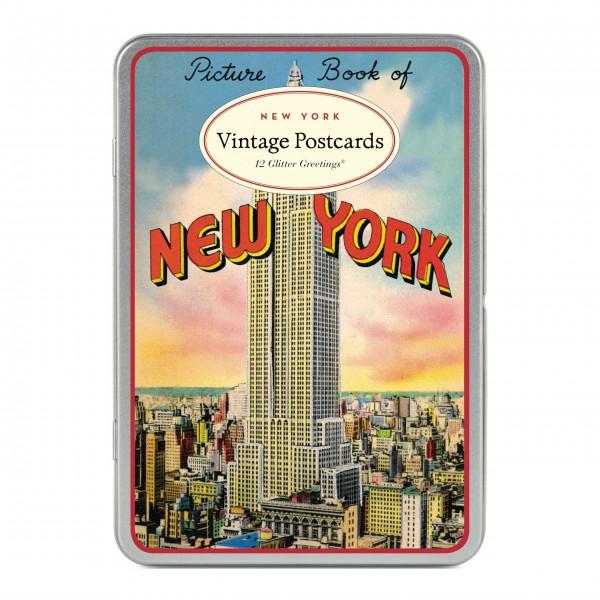 "Cavallini Postkarten ""Vintage New York City"" - 12 Stck."