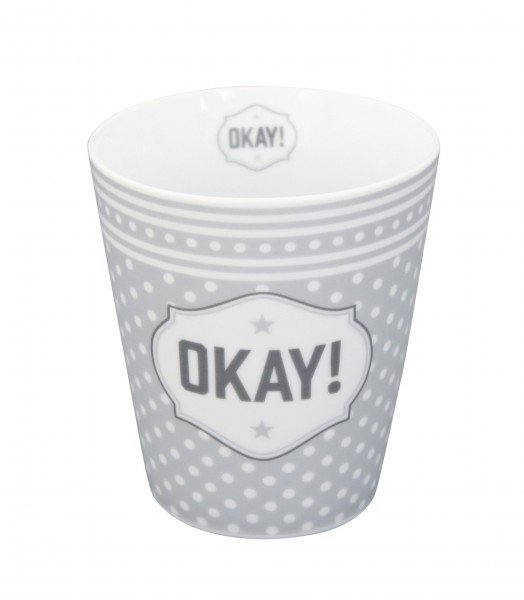 Cooler Happy Mug von Krasilnikoff