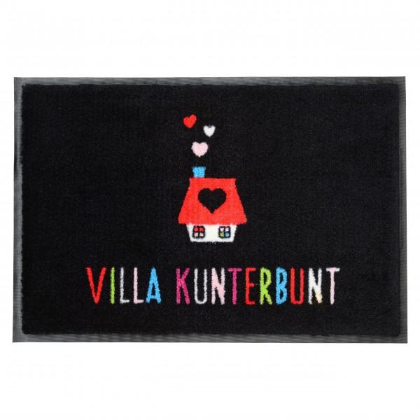 Fußmatte Villa Kunterbunt von Gift Company