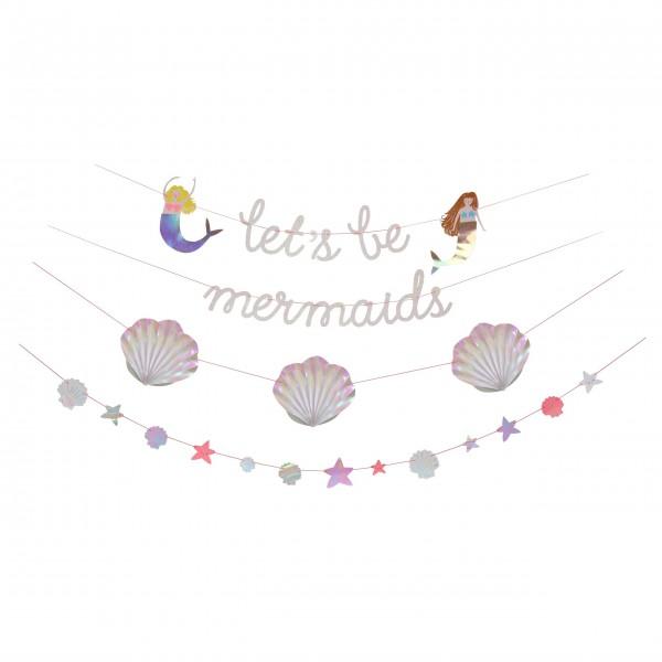 """Girlande """"Meerjungfrau"""" von Meri Meri"""