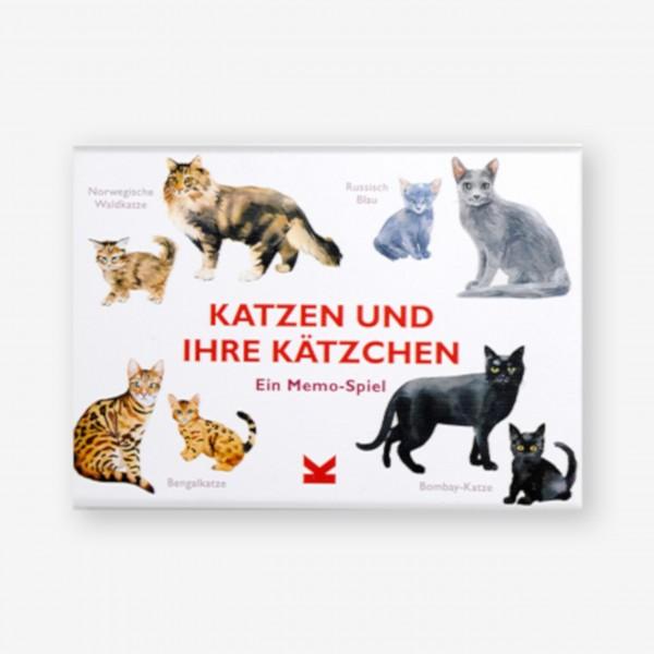"""Memo-Spiel """"Katzen und ihre Kätzchen"""" von Laurence King"""