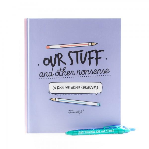 """Buch """"Our stuff and other nonsense"""" von mr. wonderful*"""