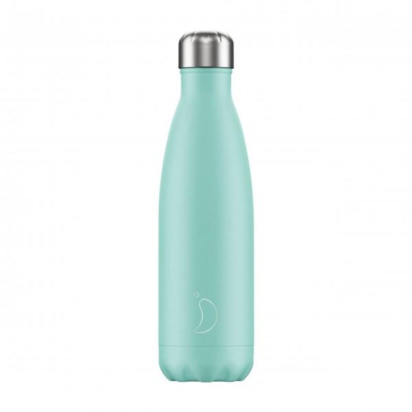 "CHILLY'S Bottle Isolierflasche ""Pastell Grün"" - 500 ml (Mint)"