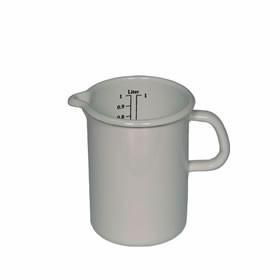 RIESS Küchenmaß aus Emaille - M (Weiß)