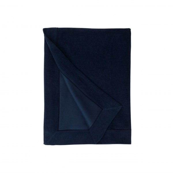 "Lexington Bettüberwurf ""Samt"" 160x240cm (Blau)"