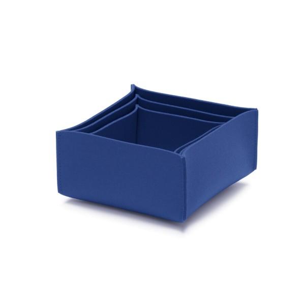 Filz-Box-Set 2 - SML (Blau/Indigo) von HEY-SIGN